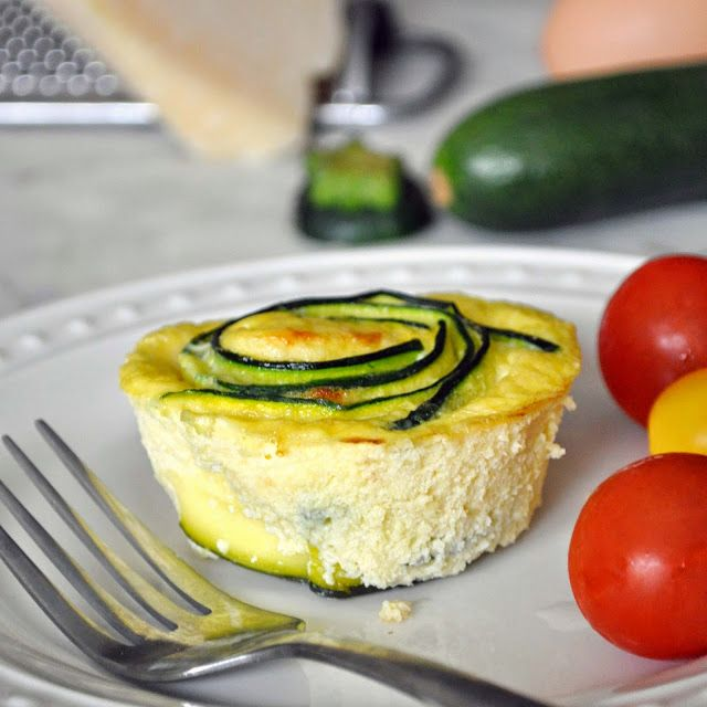Cooking with Manuela: Oven-Baked Frittata Cups with Zucchini