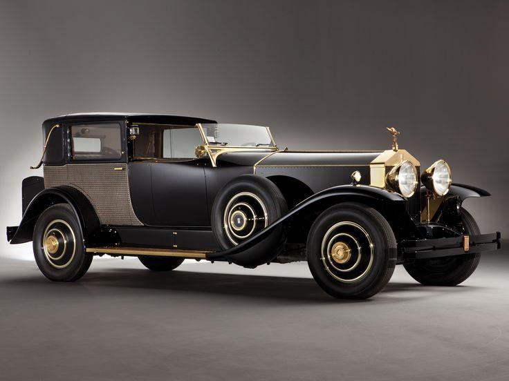 1929 Rolls-Royce Phantom Riviera Town Brougham by Brewster....Opulenza!