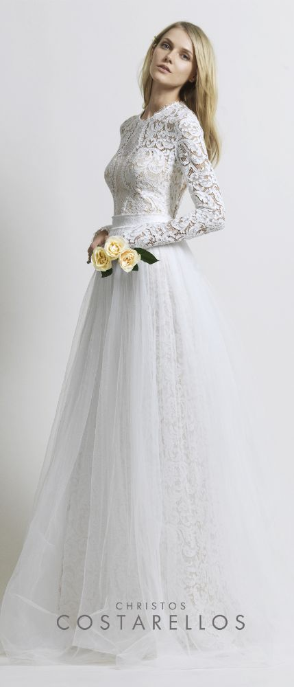 Thanks to the editor of wedding blog Style & The Bride for mentioning us in her review of this year's White Gallery London! She particularly liked this Christos Costarellos bridal gown in silk organza and cotton lace, paired with a tulle skirt. You can read the article here: http://www.styleandthebride.co.uk/stylish-trends-white-gallery-2014-part-two/ @style & the bride #bridal #weddingdress #styleandbride #weddingbloggers #wbloggers #bridalfashion #thatdress