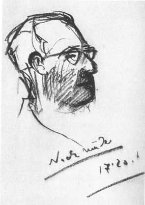 """""""8 HOURS AFTER 1ST DOSE.  Patient sits on bunk bed. He reports the intoxication has worn off except for the occational distorting of our faces. We ask for a final drawing which he performs with little enthusiasm.  'I have nothing to say about this last drawing, it is bad and uninteresting, I want to go home now.'"""""""