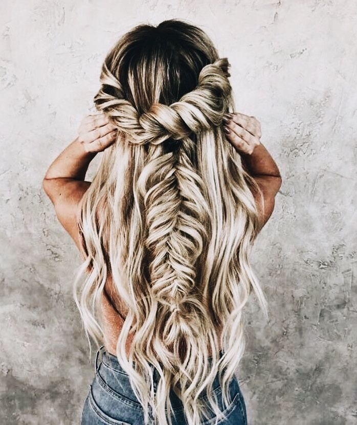 P I N T E R E S T Ohheyitslivirae Braids For Long Hair Cute Braided Hairstyles Hair Styles