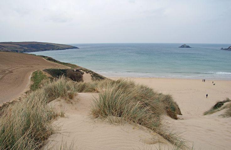 Crantock Beach - memories of so many happy holidays ...
