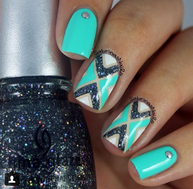 Instagram nails by sabrinasnails http://www.pinterest.com/ahaishopping/