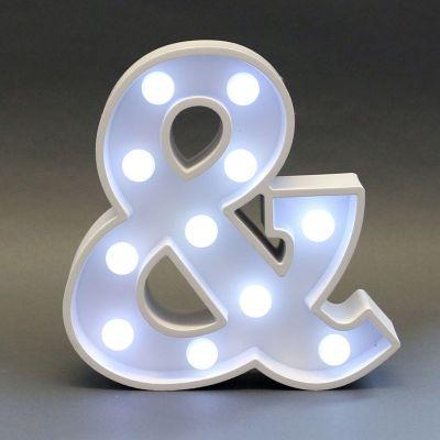& Light Up Sign