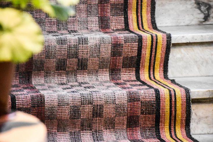 Swedish vintage rag rug 0843 - Rugs of Sweden