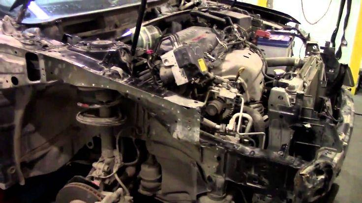 Кузовной ремонт. Тойота Камри, день впустую. Body repair.