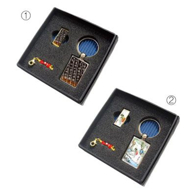 USB+금속사각 열쇠고리 MOTHER OF PEAR USB+ CARD CASE SET
