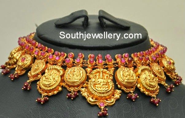Traditional South Indian Gold Necklace