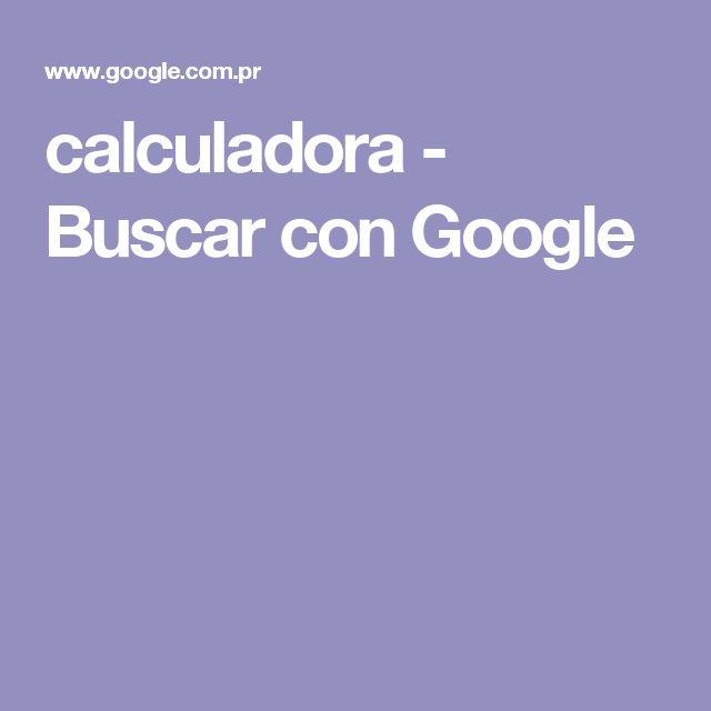 calculadora - Buscar con Google