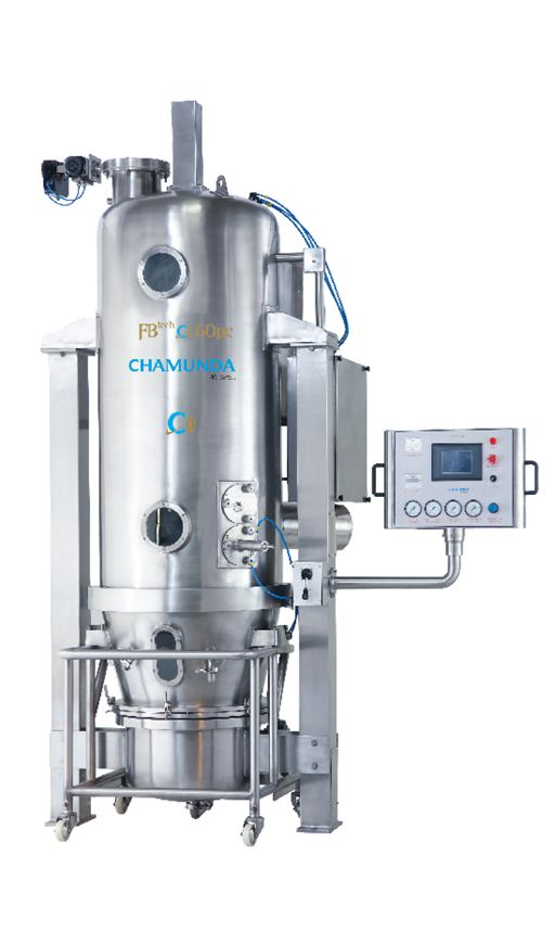 We offer customized, Fluid Bed Granulator, Fluidized Bed Powder Coating, Pellets…
