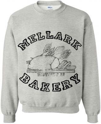 Hunger Games , Peeta's family baker sweatshirt :)   $31