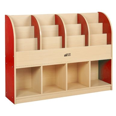 Book display, book shelves and large book storage at Daycare Furniture  Direct