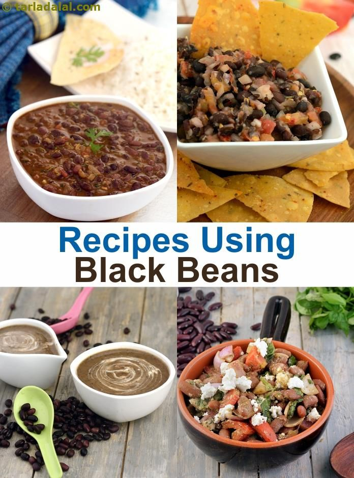 25 black beans recipes | Black Beans Recipe Collection | Page 1 of 2 | Tarladalal.com