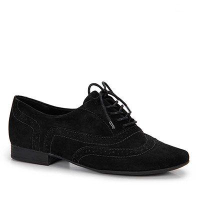 Sapato Oxford Feminino Bottero - Preto                                                                                                                                                      Mais