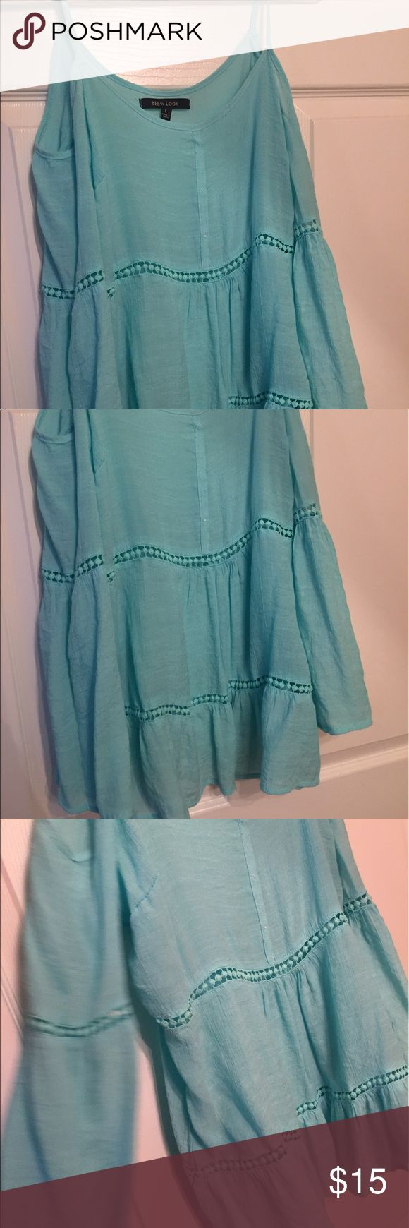Adorable mint blouse Brand new. Adorable for any occasion. Prefect on shorts and cowboy boots or shorts on sandals/ wedges. New Look Tops Blouses