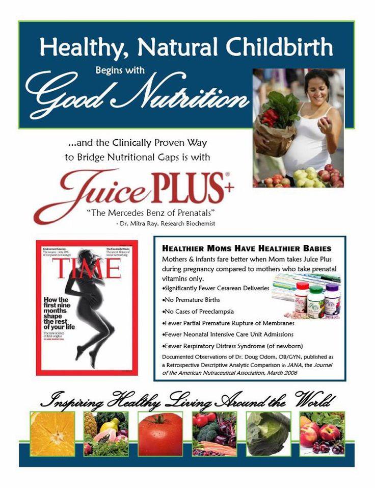 Juice plus & pregnancy...www.debe4juiceplus.com