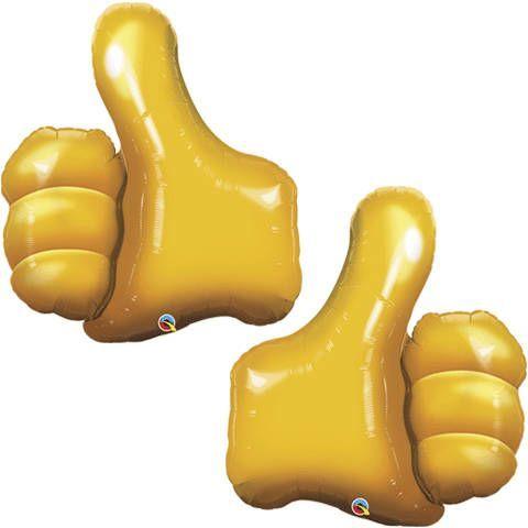 Thumbs Up Balloon – Balloon, Social Media Party, Graduation Party Decor, Tween Birthday Party
