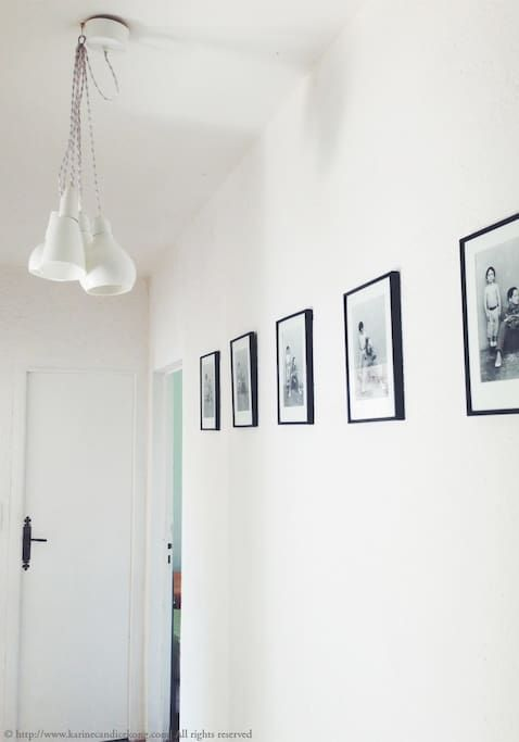 white interior in Airbnb, Bay of Arcachon, France