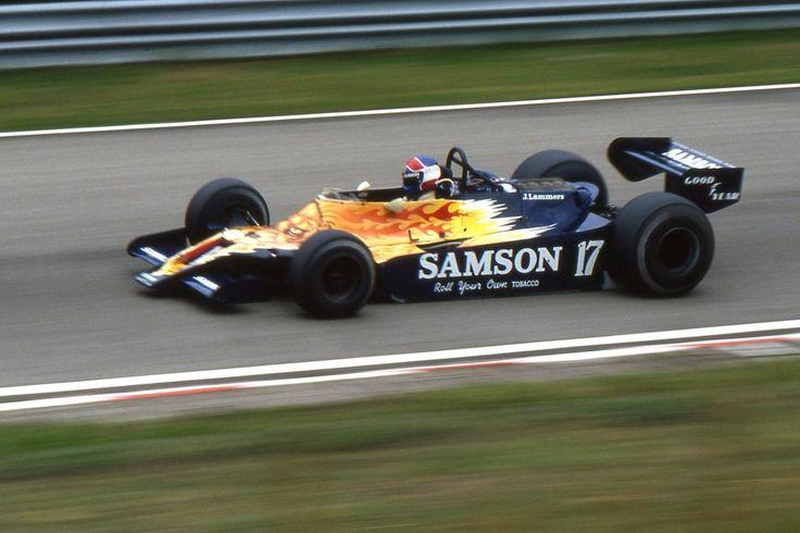 Jan Lammers -Shadow Racing Team (Cosworth) - 1979