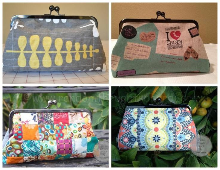 Free  Framed Clutch Purse Pattern