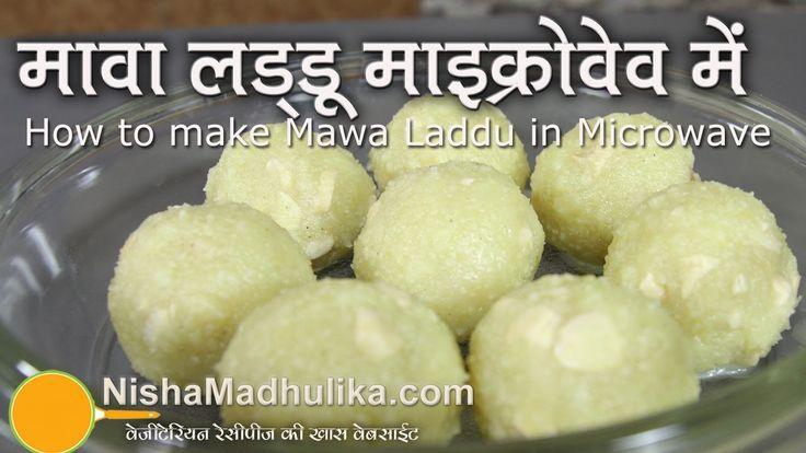 Khoya  Laddo in Microwave - Mawa Ladoo in Microwave