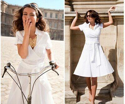 Details über Shabby Apple Bonheur Dress White Small S   – more summer/spr styles