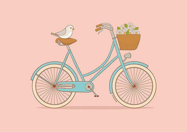 Abrí la ventana y fijate si está lindo el día! Sale un paseo en bici ;)