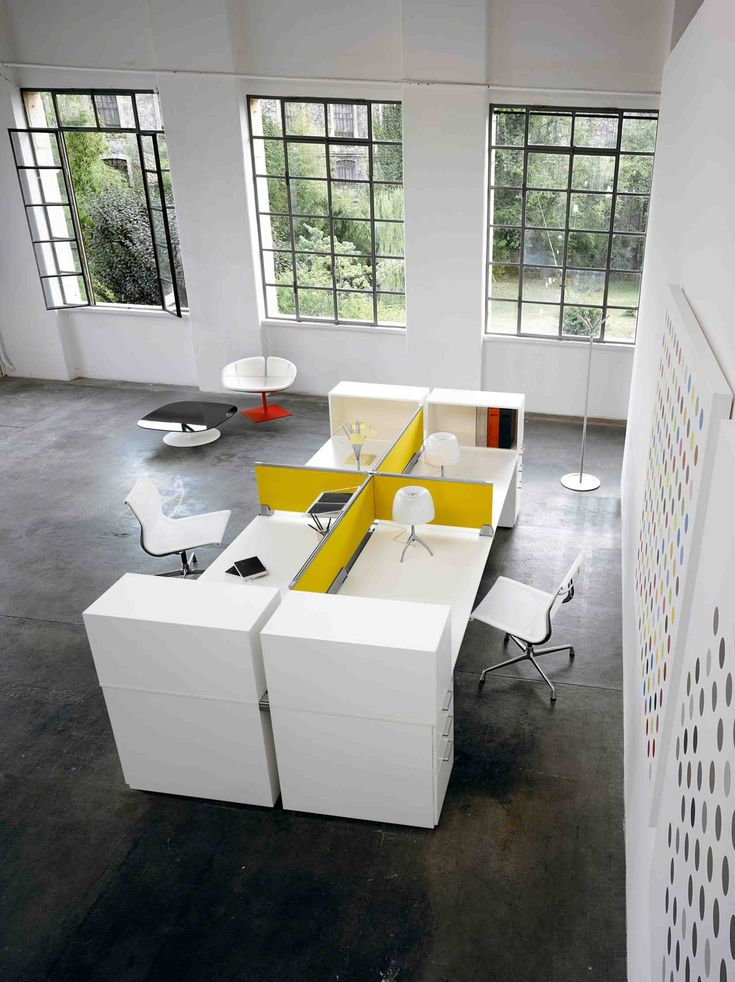 We love the possibilities that Diamond office desks offer for contemporary offices