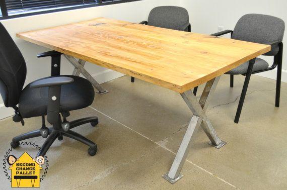 Metal Legs for Table X Legs Steel Table Base by SecondChancePallet
