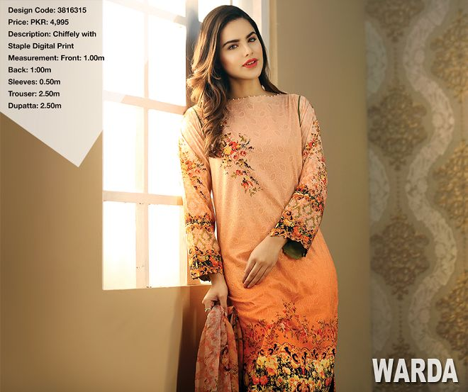 Warda Spring Summer Collection 2016 Vol 1 with Prices   BestStylo.com