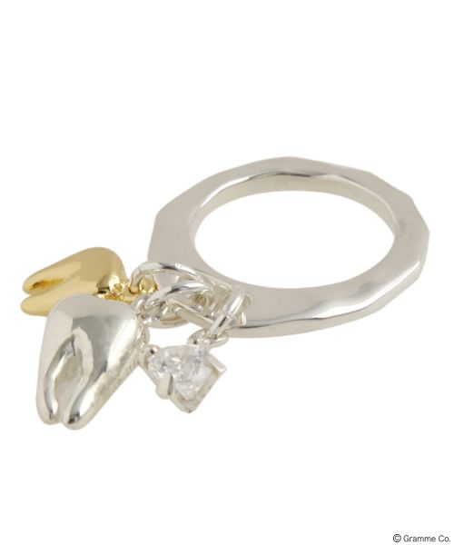 Tooth Combi Ring