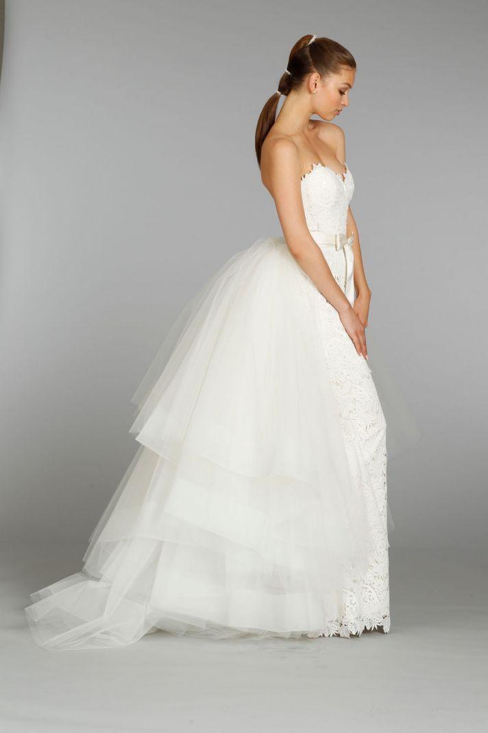 127 best Lazaro images on Pinterest | Hochzeitskleider, Brautkleider ...