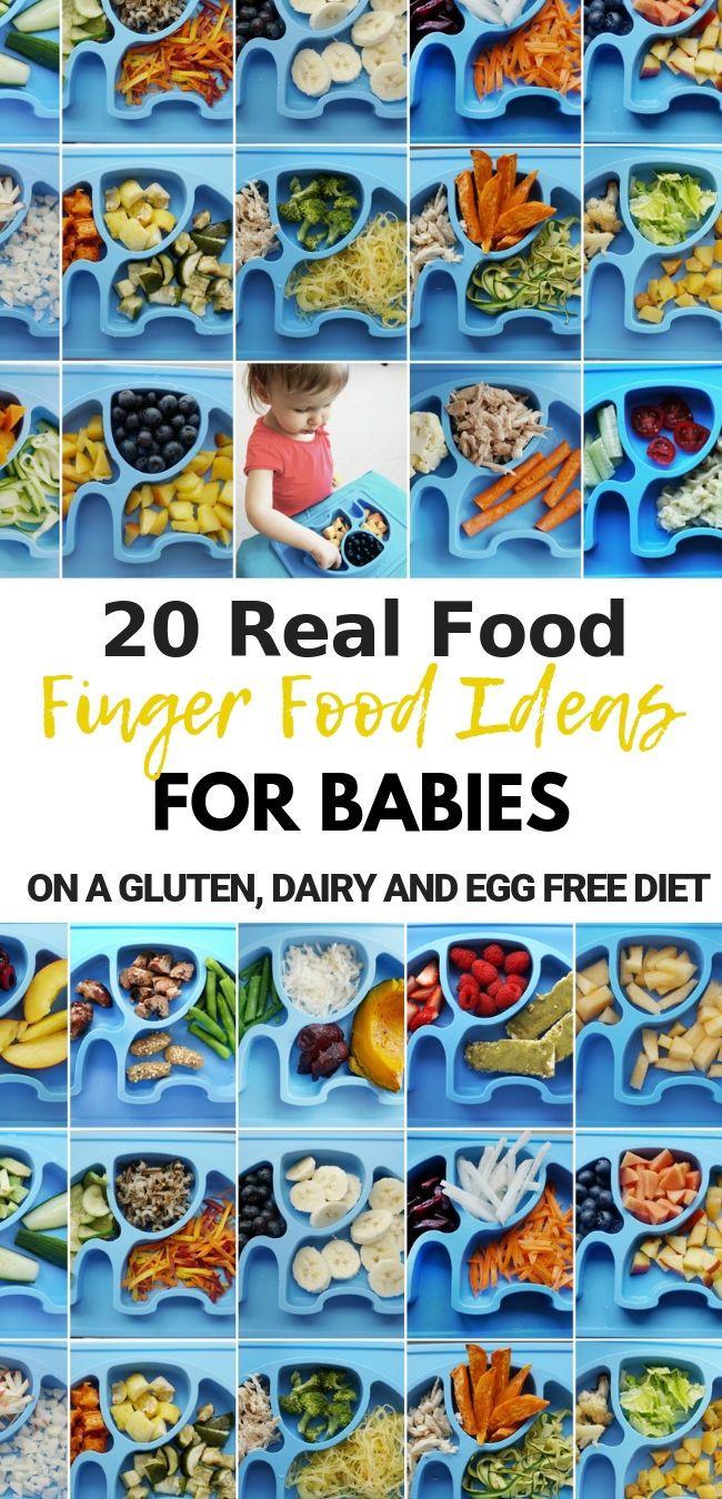 20 Finger Food Ideas Gluten Free Dairy Free Egg Free Dairy Free Recipes For Kids Dairy Free Baby Baby Food Diet