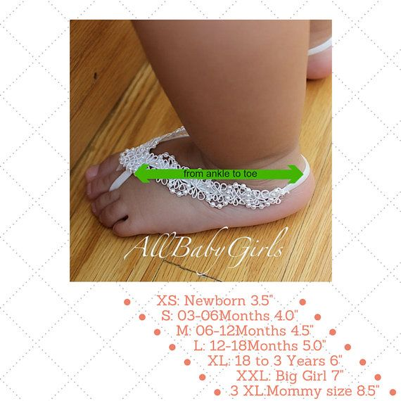 Gold Braided Baby Barefoot Sandals with Pearls by AllBabyGirls