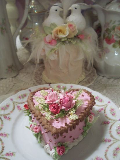 17 Best Images About Sweet Heart Cakes On Pinterest