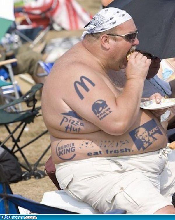 Tattoo guy eats pussy gif