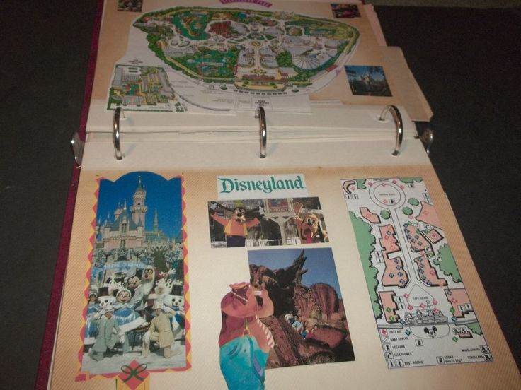 Photo Album Brochure Postcards Photos Rose Parade Disneyland Beverly Garland