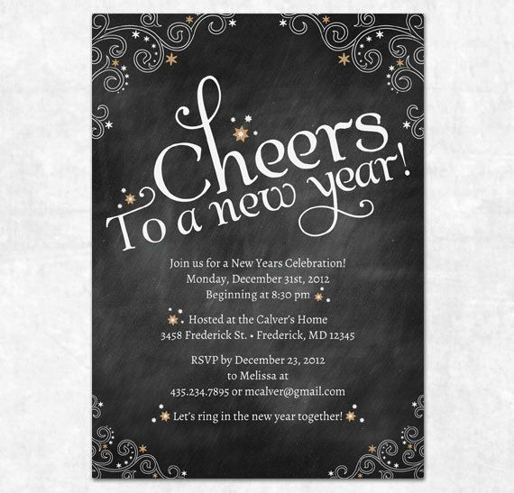 Cheap New Years Invitations