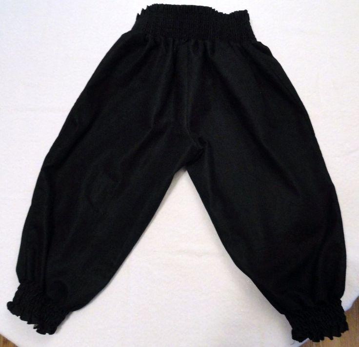 Capri Workout Yoga Pants Wide Elastic Waist & Legs USA DG Dolman Goddess L Black #DolmanGoddess #CaprisCropped