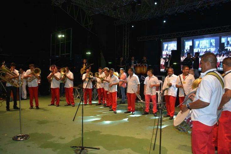 Banda ganadora del Festival Nacional del Porro en San Pelayo 2016, categoría Reina de Reinas, La original de Manguelito, segundo lugar la 20 de Diciembre de Cotorra y tercer lugar la San José de Toluviejo, Sucre.
