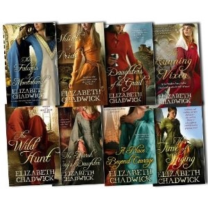 HIstorical novels by Elizabeth Chadwick - Revolves around the time of Richard the Lionheart, Eleanor of Aquitaine, etc.  Excellent reads!!!