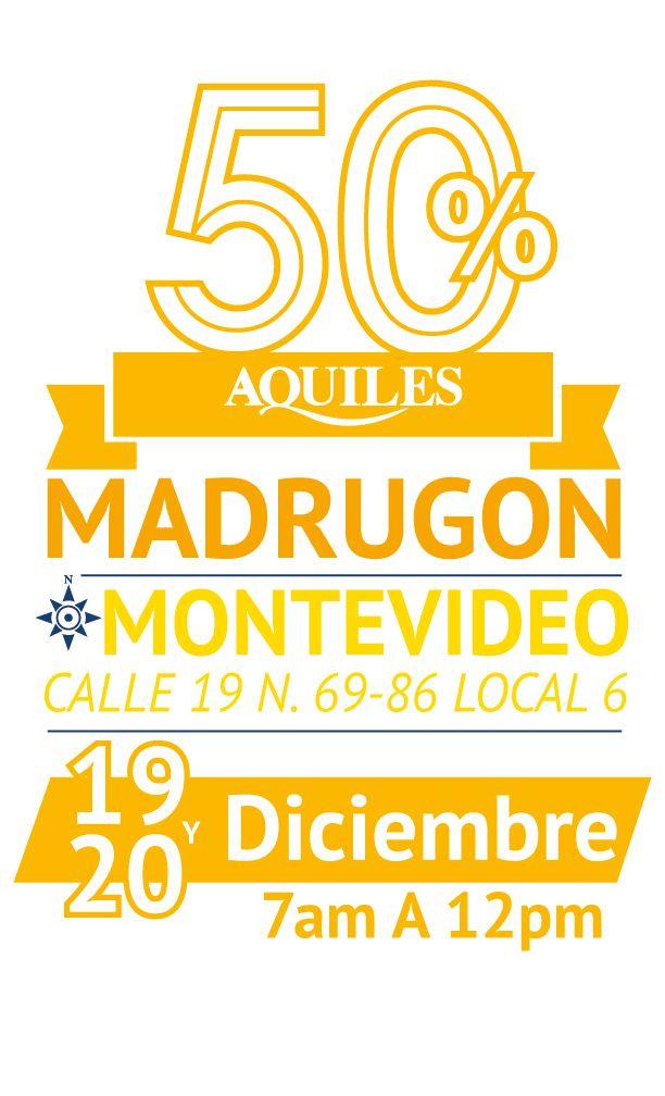 Gran madrugón Montevideo (Bogotá) Cll 19# 60 - 86 Lc.6 El 19 y 20 de Diciembre 2014 de 7am A 12pm.