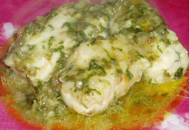 Filetti di merluzzo in salsa di capperi