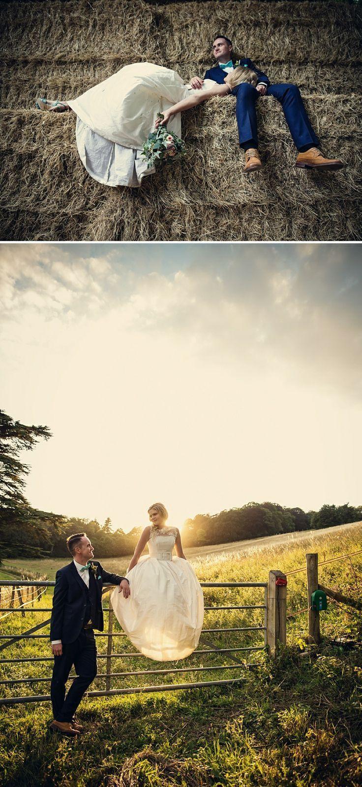 Rustic farm wedding, 2nd photo = perfect light.