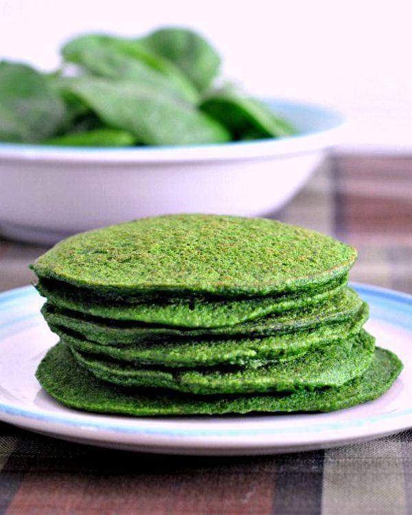 Spinach Pancakes - quick and easy vegan @spabettie
