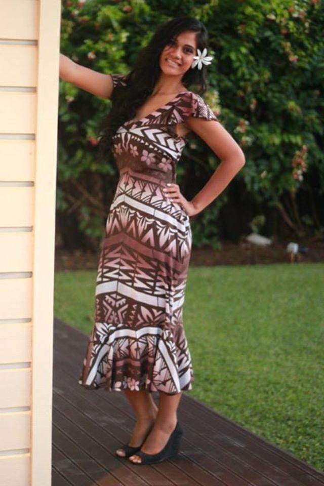 Pin by Frances Matawalu on island print dresses   Hawaiian