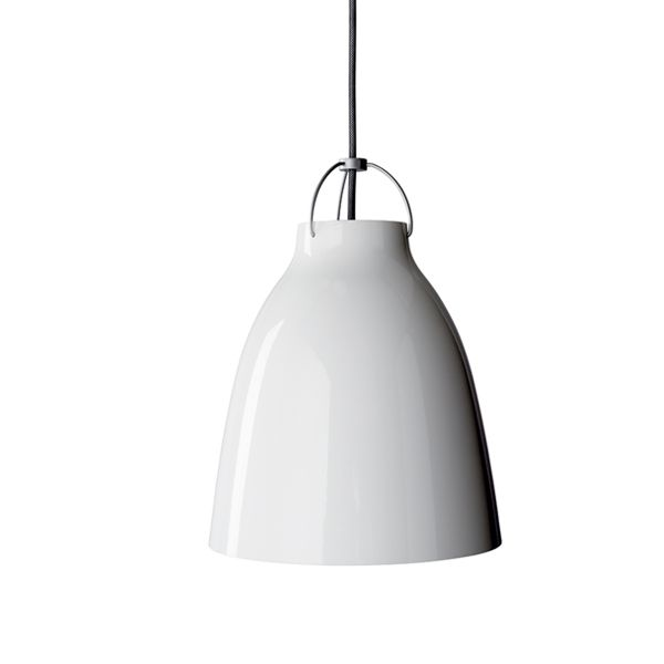 Caravaggio P2 valaisin, valkoinen