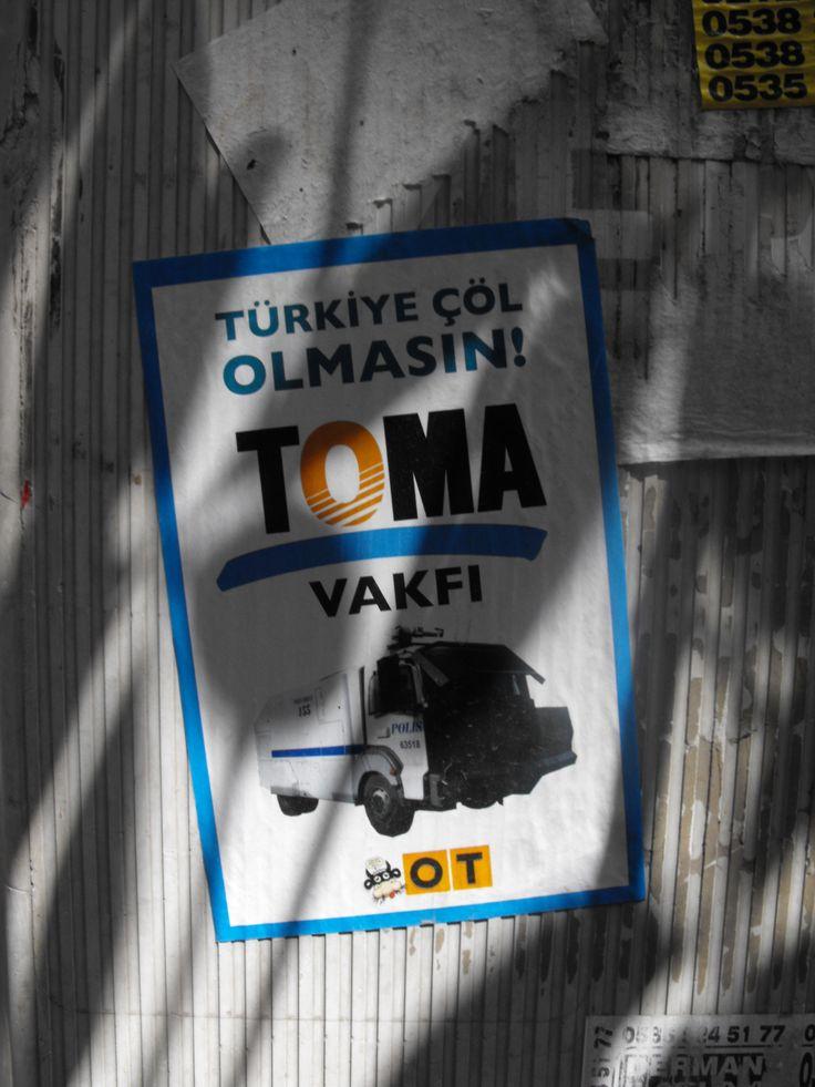 Türkiye Çöl Olmasın! TOMA Vakfı - Galata