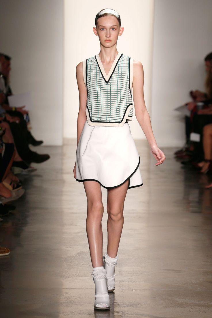 Louise Goldin Spring 2014 Look 23