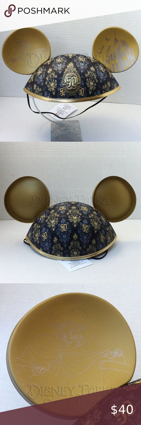 Disney Haunted Mansion 50th Anniversary Ears Hat in 2020